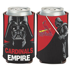 St. Louis Cardinals Darth Vader Can Cooler 12 oz. Star Wars Koozie