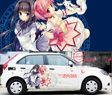 Cute Manga Anime Girl Car Graphics Decal Vinyl Sticker Set Full Color