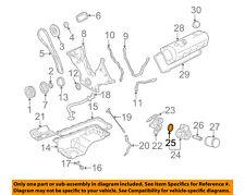FORD OEM 03-04 Mustang 4.6L-V8 Engine-Oil Cooler Gasket F6ZZ6L621AA