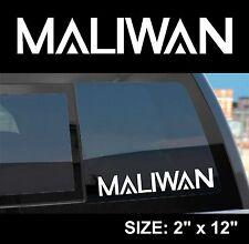 """Borderlands 2 / Pre-Sequel """"Maliwan"""" Gun Manufacturer Sticker Decal"""