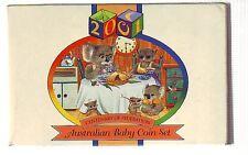 2001 Royal Australian Mint BABY PROOF Set Year Birthday Gift Koala Series