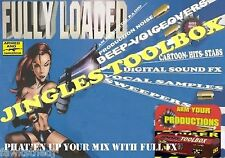 THE JINGLES TOOLBOX PRO-FX SWEEPERS AUDIO IMAGING SAMPLES FOR DJ,STUDIO,RADIO,TV