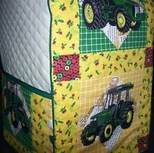 Patchwork John Deere Tractor Cover KitchenAid Mixer NEW