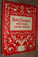Betty Crocker's Picture Cookbook Illustrated 5 Ring Binder First Edition 1950