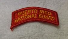U.S.ARMY PATCH, PUERTO RICO NATIONAL GUARD,OBSOLETE TAB