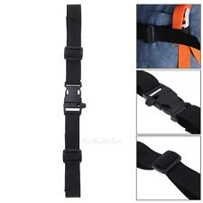 Adjustable Nylon Webbing Sternum Strap Backpack Chest Harness w/ Whistle Buckle