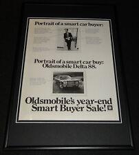 1972 Oldsmobile Delta 88 Framed 12x18 ORIGINAL Advertisement