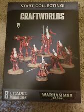 Warhammer 40k Eldar Craftwolds Start Collecting Kit