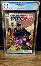 Children of the Atom #1 Secret Variant Wow CGC 9.8 NM/M X-men VOICES L@@K