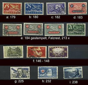 Schweiz bessere Marken gestempelt; bitte auswaehlen #g996