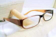 JM New York Reading Glasses +3.50  Lens Brown Frame Spring Hinged Reader