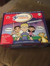 Hooked On French A 3-Level Program (2006 Edition) Ages 4-6 Gently Used Cds Books