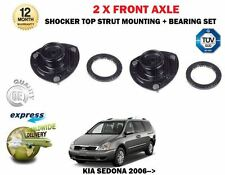 FOR KIA SEDONA 2.2DT 2.7 2.9DT 2006->2X FRONT SHOCK ABSORBER RUBBER TOP MOUNTING