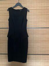 Ted Baker Black Smart Dress 8 (size 1)