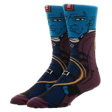 Guardians Of The Galaxy Yondu Character Collection One Pair Of Crew Socks NEW