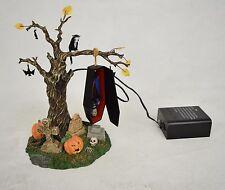 Dept 56 Snow Village Halloween Rock A Bye Vampire Graveyard Coffin Pumpkin