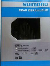Shimano Deore RD-M6000 SGS 10-Speed Shadow Plus Rear Derailleur Long Cage