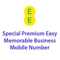 EE Platinum Gold Special Premium Easy Memorable Business Mobile Number Sim Card