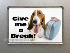 New, Quality Fridge Magnet - Cute Dog, Puppy - GIVE ME A BREAK! - Funny & Cheeky