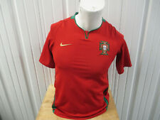 VINTAGE NIKE PORTUGAL NATIONAL FOOTBALL TEAM YOUTH XL SEWN JERSEY 2018/20 KIT