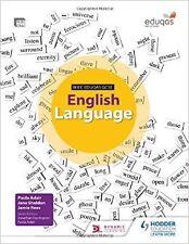 WJEC Eduqas GCSE English Language Student's Book New Paperback Book Paula Adair