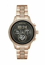 Michael Kors smart watch Access Runway Stainless Still Crystal silver rose gold
