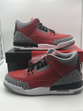 Nike Air Jordan 3 Retro SE Unite Fire Red Cement Grey Black CK5692-600 Authentic