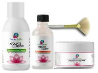 10%, 20% or 30% Salicylic Skin Peel Kit + Glycolic Cleanser + Cream & Fan Brush