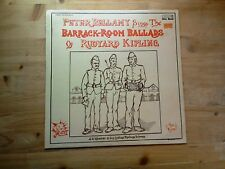 Peter Bellamy Barrack Room Ballads of Rudyard Kipling EX Vinyl Record FRR 014