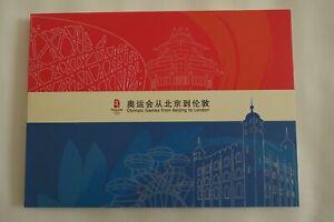 Commemorative Booklet - Olympic Games Beijing to London Handover 2008 - 2012