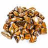 Tigers Eye (3 Pcs) Tumbled Gemstone - Natural Stone Golden Display (CR20)
