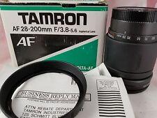 Tamron AF 28-200mm F/3.8-5.6 71DM Lens for Minolta AF in Original Box