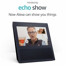New! Amazon Echo Show Alexa Automated Smart Home WiFi Video Device (Black)