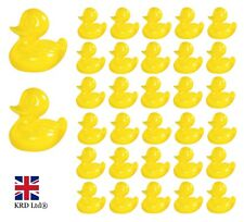 Cute YELLOW PLASTIC DUCKS Party Fair Charity Fundraising Races Fetes Toy Gift UK