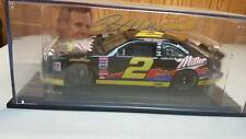 Rusty Wallace #2 Miller Genuine Draft Thunderbird Car 1:24 With A Rare Display
