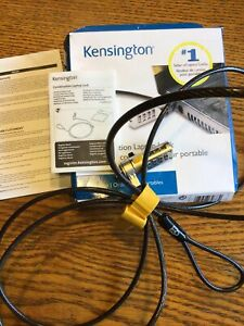 Kensington Combination Cable Lock for Laptops and Other Devices (K64673AM),Black