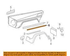MERCEDES OEM G55 AMG EXTERIOR TRIM-FENDER-Body Side Molding Left 4636982362