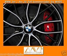 Genuine BMW 3er F30 31 4er 20 Inch Performance M 405 alloy wheels wheel set new