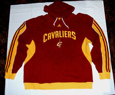 Cleveland Cavaliers adidas Stitched & Embroidered XL Hoodie Sweatshirt Wine Gold