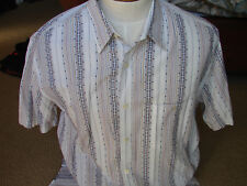 EUC Mens Tori Richard Cotton Lawn Hawaiian Shirt Made in Hawaii USA Size X-Large