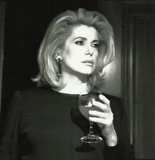 CATHERINE DENEUVE diva années 2000 photo 18x24 cm égérie YSL yves saint laurent