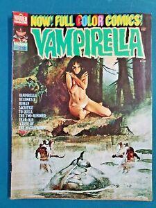 VAMPIRELLA #28 1973 NICE COPY VF+ NUDITY cover- Vintage Horror Stories