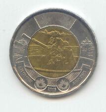Canada 2016 BATTLE OF THE ATLANTIC WW2 Toonie Canadian $2 Dollars Two Dollar