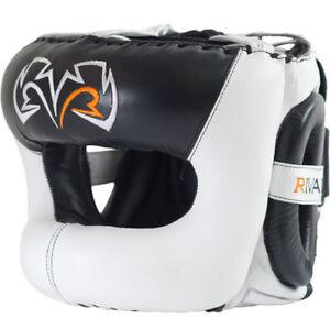Rival Boxing Guerrero Facesaver Headgear - White