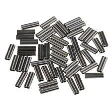 150 Stücke Angeln Doppel Angelschnur Ärmel Klemm Hülsen 1,2 mm 0,8 mm 1 mm