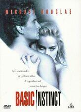 Basic Instinct DVD Michael Douglas,Sharon Stone,George Dzundza,Jeanne Tripplehor