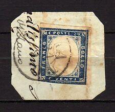 #475 - Antichi Stati, Sardegna - 20 cent su frammento