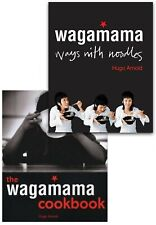 The Wagamama Cookbook & Ways With Noodles 2 Books Collection Set by Hugo Arnold