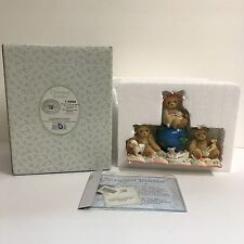 Cherished Teddies Love Spans All Nations Figurine Desiree Karina Shawn Enesco 02