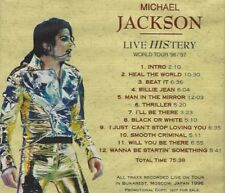 Michael Jackson - Live History World Tour 96/97 - CD, Promo, 12 Tracks